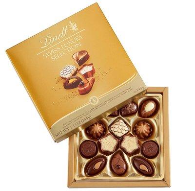 (預購,下標後約7天寄出)瑞士蓮 LINDT Swiss Luxury chocolate selection 145g