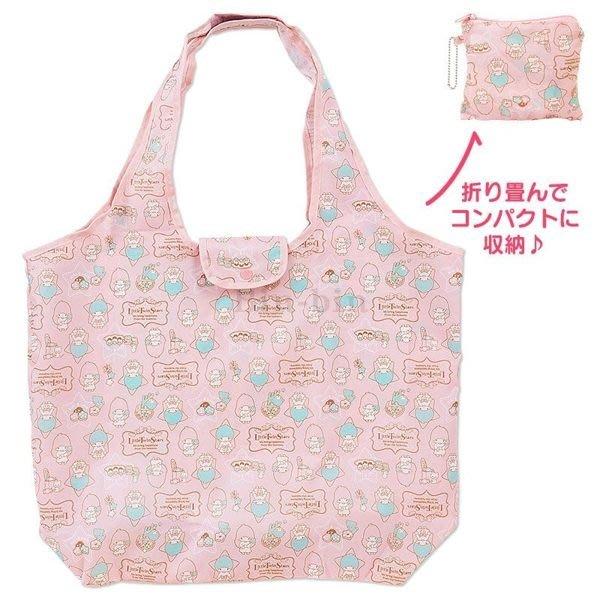 東京家族 雙子星 可收納 手提式購物袋