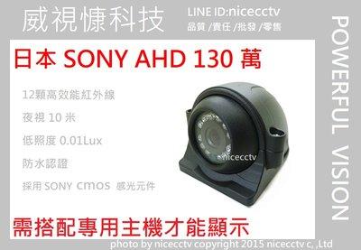 【NICECCTV】車用攝影機/SONY 960P/130萬畫素/廣角攝影機/貨車鏡頭/倒車鏡頭/四路行車紀錄器