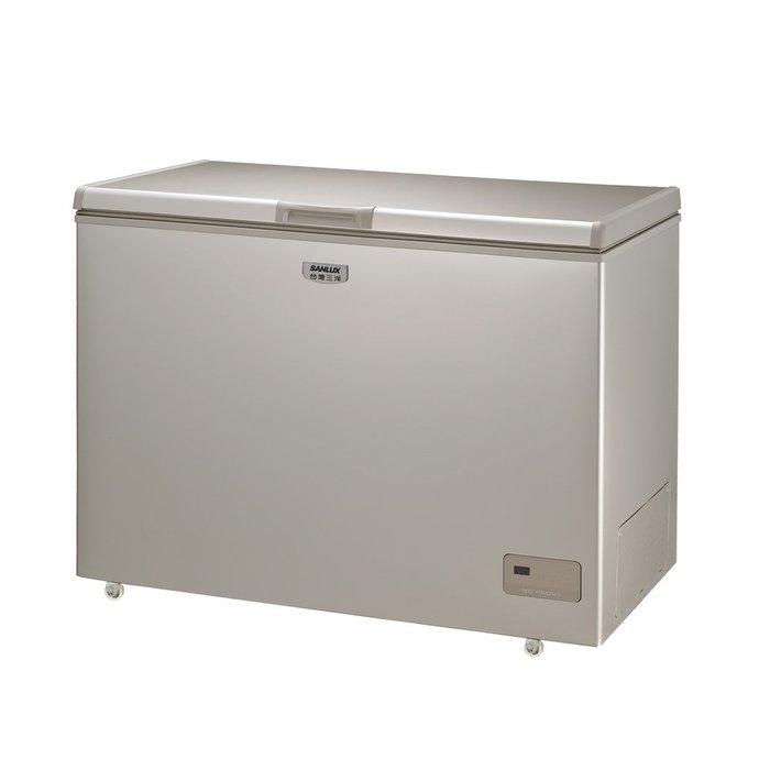 SANLUX 台灣三洋 236L 上掀式 冷凍櫃 風扇式 無霜 SCF-236GF $12600