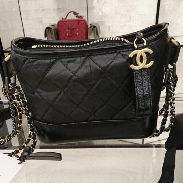 J-Shop Luxury 精品店 Chanel Gabrielle Hobo 小尺寸 全黑流浪包