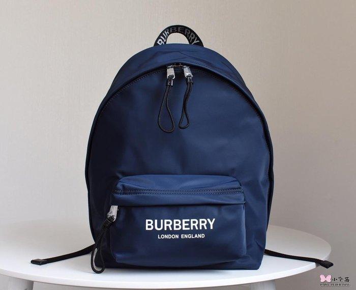 【小黛西歐美代購】Burberry 巴寶莉 2019款 字母LOGO 尼龍雙肩包1 歐美時尚 美國outlet代購