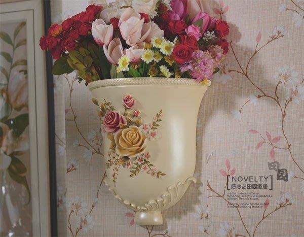 粉紅玫瑰精品屋~好心藝 手繪花瓶 現代時尚維多利亞樹脂花瓶 ~現貨+預購