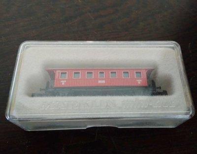 (全新未拆封)MARKLIN紅色二等乘客車廂(A173)