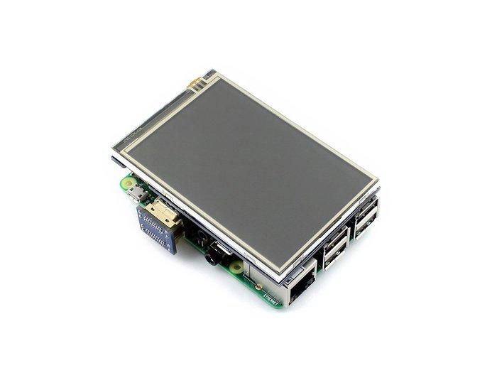 【莓亞科技】樹莓派3.5吋 320×480 IPS HDMI LCD 電阻式觸控螢幕(含稅現貨NT$838)
