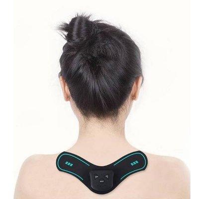 2019新款多功能無線智能頸椎按摩儀 充電款 肩頸按摩 全方位按摩