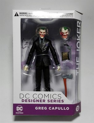 JAMES ROOM#蝙蝠俠DC Collectibles 設計師系列終局小丑Greg Capullo