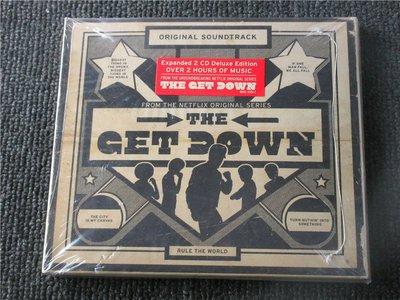 正版2CD電視原聲帶《布朗克斯街頭少年音樂夢》/The Get Down全新未拆