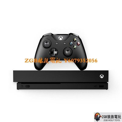 ZGB狼族電玩 微軟原裝 XBOX ONE X 天蝎座 xboxone S 體感游戲主機