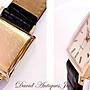 ((天堂鳥)) MOVADO KINGMATIC 18K玫瑰金方型自動錶|完美品相