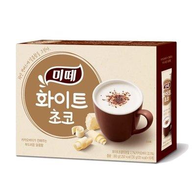 韓國 Mitte 熱可可飲(白巧克力) 30gx10T 【庫奇小舖】【F238】