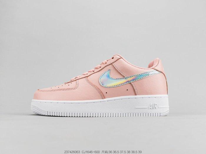耐克Nike Air Force 1 '07 空軍一號低幫運動女鞋休閒板鞋CJ1646-600