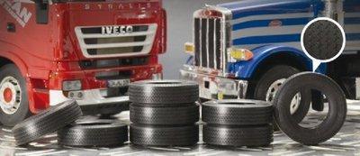 ITALERI 1/24 Truck Rubber Tyres 卡車用 像真寬車胎 8入 (3889)
