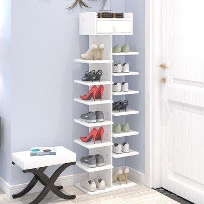 【蘑菇小隊】鞋架多層鞋架簡易家用經濟型省空間家裡人仿實木鞋櫃宿舍門口小鞋架子-MG72536