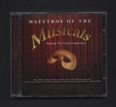 ///李仔糖二手CD唱片*1998年進口版.MAESTROS OF THE MUSICALS二手CD(s691)