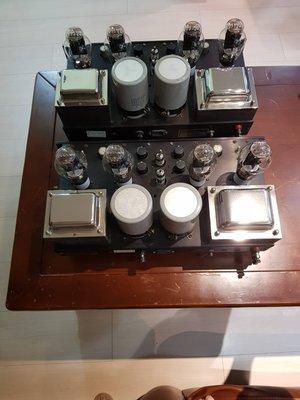 售一套美國原廠 VTL Vacuum Tube Logic mono mono真空管後級擴大機(含300B真空管)