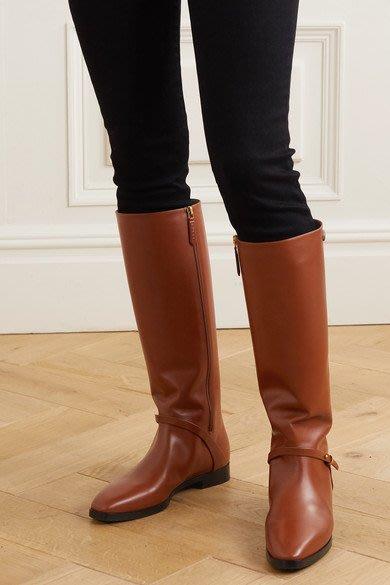 【代購】原價優惠代購 GUCCI Rosie 及膝 皮革 長靴 二色