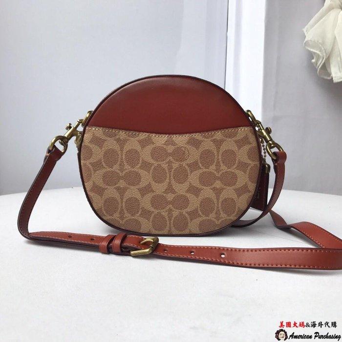 美國大媽代購 COACH 寇馳 35844 38680 Trail bag 新款化粧包 盒子包 斜背包  時尚精品  美國代購