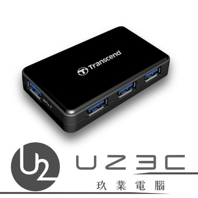 【嘉義U23C 含稅附發票】創見 USB3.0 4 Port USB Hub 集線器 TS-HUB3K