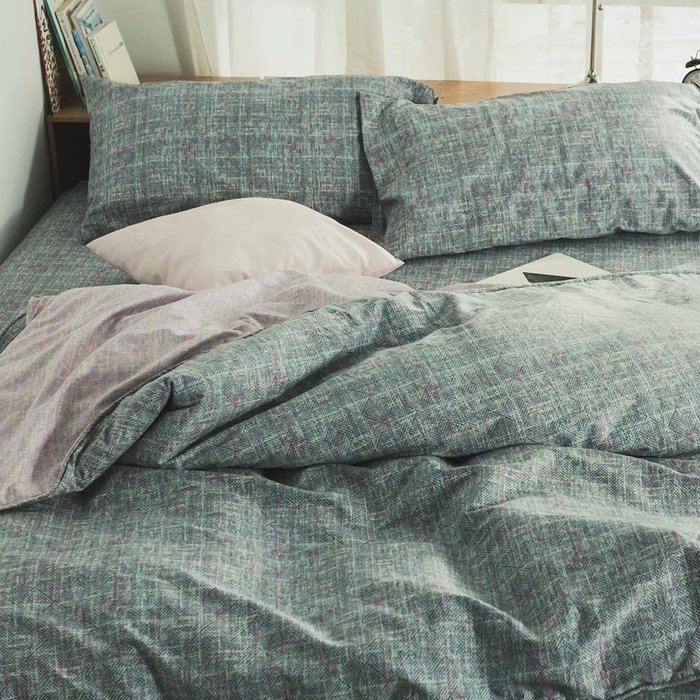 MIT精梳純棉鋪棉兩用被套-6*7尺【無限宇宙】-絲薇諾