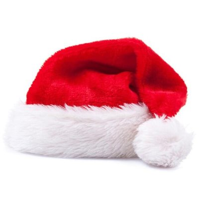 聖誕帽 高檔短毛絨成人兒童聖誕帽聖誕老人金絲絨帽子聖誕節裝飾品頭飾—莎芭