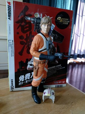 star wars wing pilot figure sofubi vinyl soft 搪膠公仔