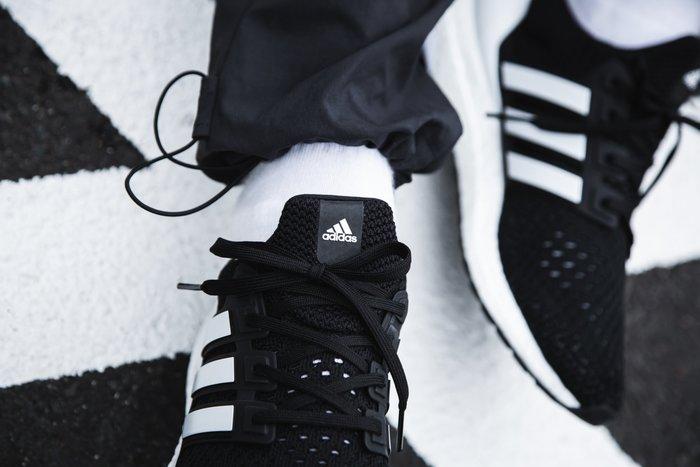 現貨 iShoes正品 Adidas UltraBOOST Clima U 男鞋 黑 白 運動 慢跑鞋  EG8076
