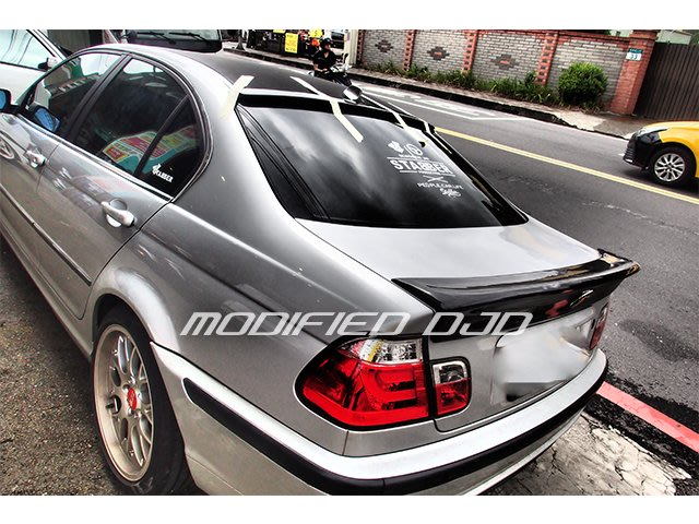 DJD19102009 BMW E46 2d 4d 2門 4門 CSL 碳纖維 CARBON 卡夢 尾翼