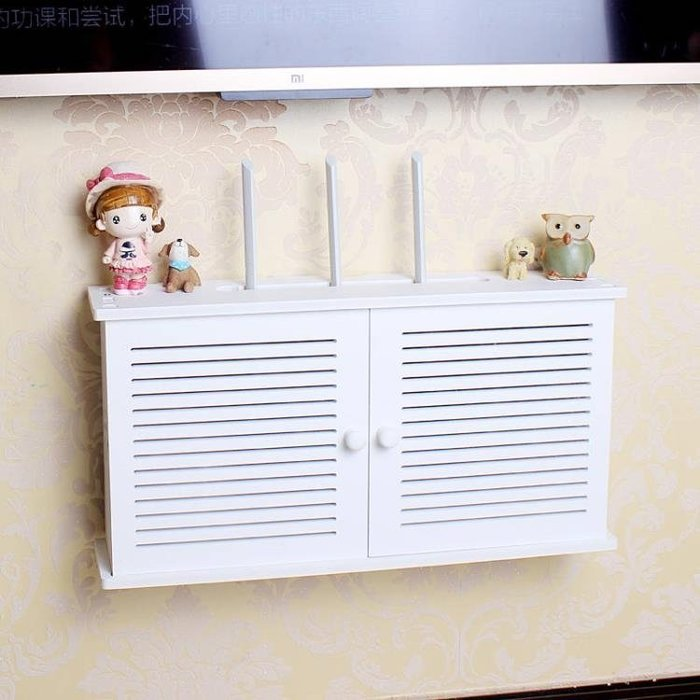 支架 電視機頂盒架免打孔置物架客廳電視墻裝飾臥室墻上壁掛路由器隔板