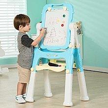 全店活動折扣 兒童畫板可升降支架式小黑板墻家用畫架雙面磁性寶寶涂鴉寫字白板