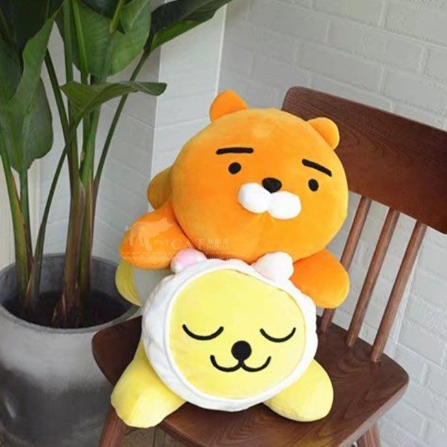 【FAT CAT HOUSE胖貓屋】韓國kakao friends萊恩Ryan趴睡枕 抱枕靠枕 BTS防彈少年團 金南俊