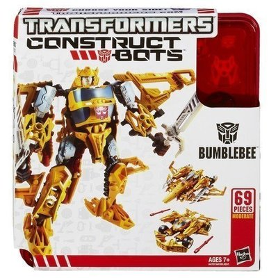 《豪宅玩具》 KRE-O 組合機器人 Construct Bots 三變 Bumblebee 大黃蜂