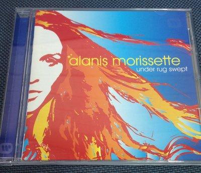 Alanis Morissette - Under Rug Swept, 美國2002年原版CD, 已絕版 (非 蔡琴)