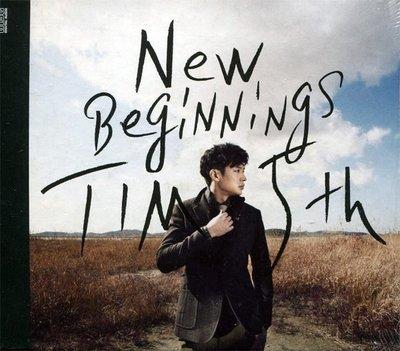 【嘟嘟音樂坊】Tim 5th - New Beginnings  韓國版   (全新未拆封)