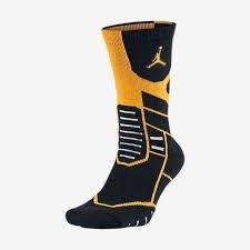 JORDAN JUMPMAN FLIGHT CREW  642210-023 籃球襪 黃黑