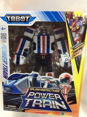 {育聖}Tobot GD 宇宙奇兵 威力 POWER TRAIN YT01105 機器戰士 正版 YOUNG TOYS