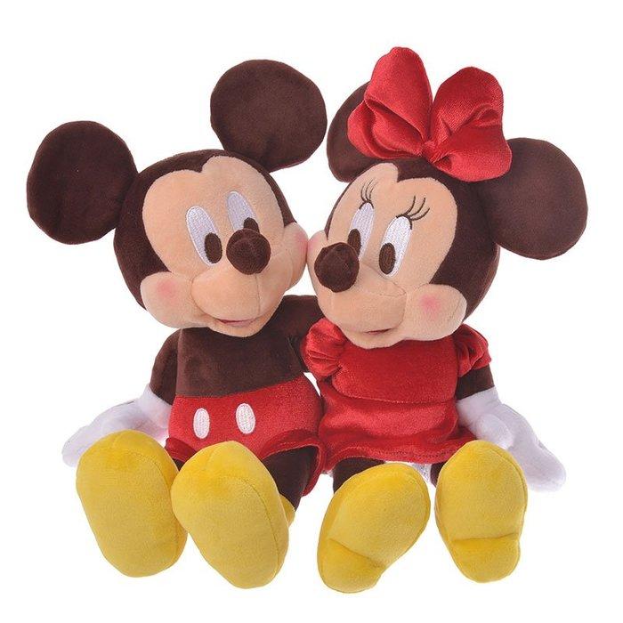 《FOS》2020情人節限定 日本 迪士尼 米奇 米尼 玩偶 娃娃 禮物 Disney 可愛 送禮 限量 熱銷