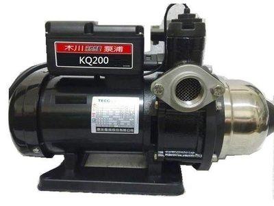 東元 KQ-200 KQ200 超靜音1/ 4 HP加壓馬達 電子穩壓加壓機 隨貨附贈防雨外罩 新北市