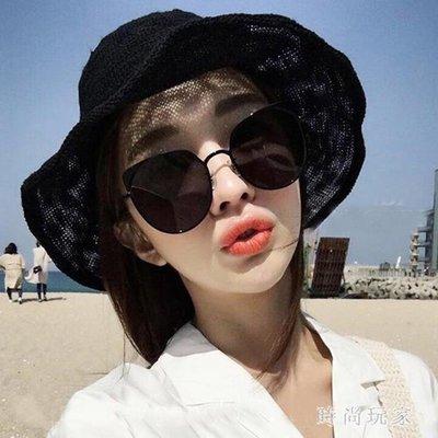 透氣棉麻漁夫帽子女夏天韓版百搭日系太陽防曬沙灘帽可折疊遮陽帽 st3738