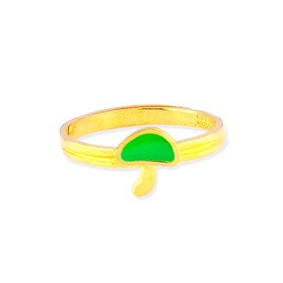 【JHT 金宏總珠寶/GIA鑽石】0.76錢 香菇黃金戒指 (請詳閱商品描述)
