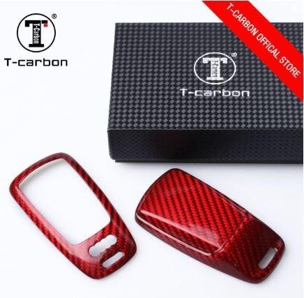 CS車宮車業 T-CARBON 碳纖維 鑰匙殼 奧迪 Audi A4 A5 A6 A8
