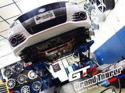 德朋國際 /    new SWIFT SPORT SUMMIT 鋁合金全車拉桿 增加車身剛性