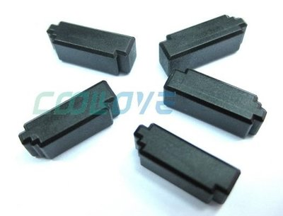 小白的生活工場*主機板SATA 母插槽用防塵蓋(KACSATA1B)-1組5顆裝