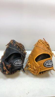 【小黑體育用品】Louisville Slugger GOT系列棒壘球 一壘手手套 原皮黃 黑/咖啡