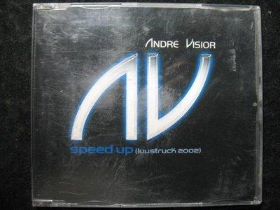 ANDRE VISIOR - SPEED UP - 2002年華納唱片單曲EP 德國版 -保存佳 - 81元起標