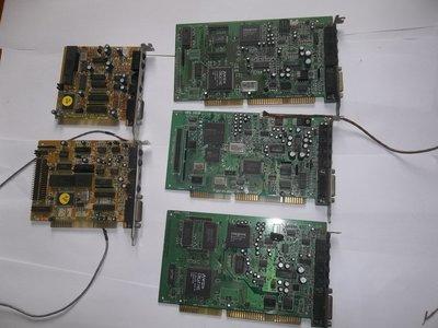 ISA音效卡,創巨,CREATIVE,SB16,CT4500,CT4380,古董優質音效卡