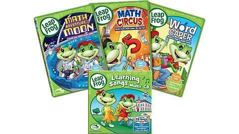 *【兒童英語教育DVD】小pen外文* LEAP FROG 英語輕鬆學 Learning DVD+CD Set