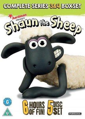 【藍光電影】超級無敵羊咩咩 第五季 Shaun the Sheep Movie (2016)  116-059