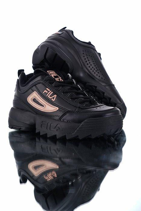 [Reon羅恩代購] FILA Disruptor II 厚底增高帥氣反差鋸齒鞋 老爹鞋 櫻花粉