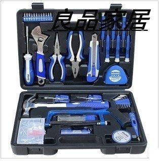 【優上精品】82件家用五金維修 工具組合套裝 組套工具箱家庭DIY必備品修理(Z-P3239)